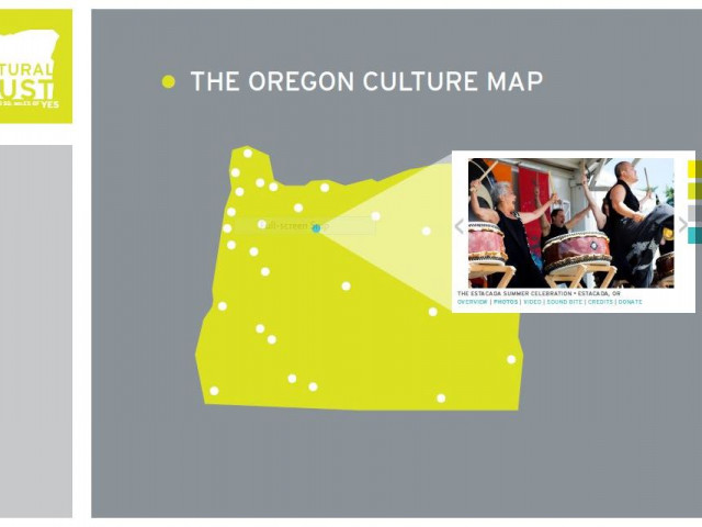 Welcome Oregon's new culture map