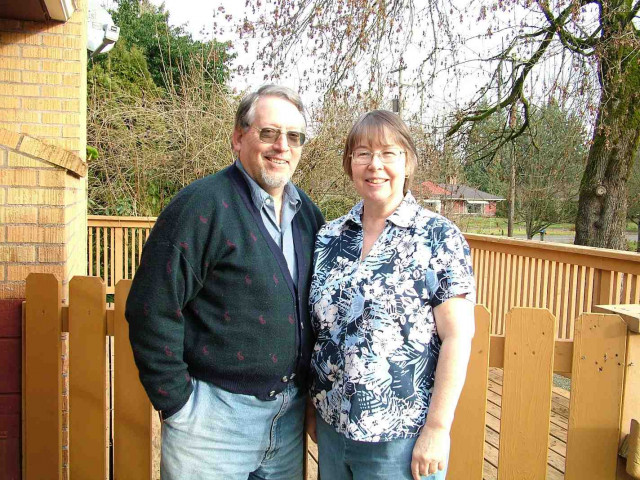 Oregon Heritage Stewardship Certificate Given to Talbot Couple