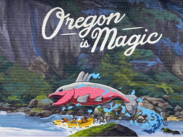 Cultural Trust partners with Travel Oregon on Oregon Mural Trail